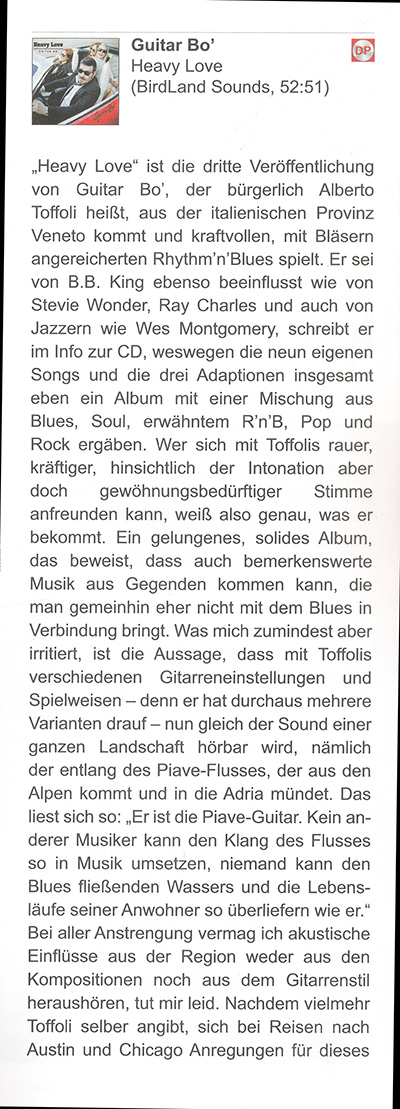 BluesNews interview