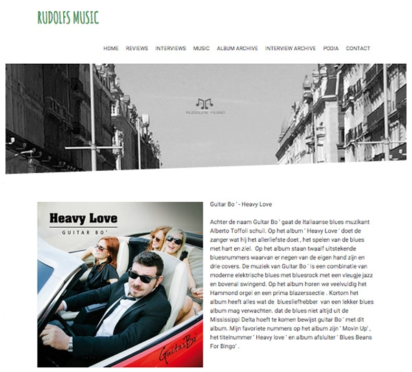 Rudolfsmusic.com - Album Review